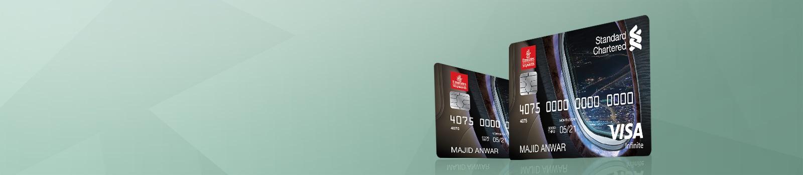Standard Chartered Emirates Infinite Credit Card