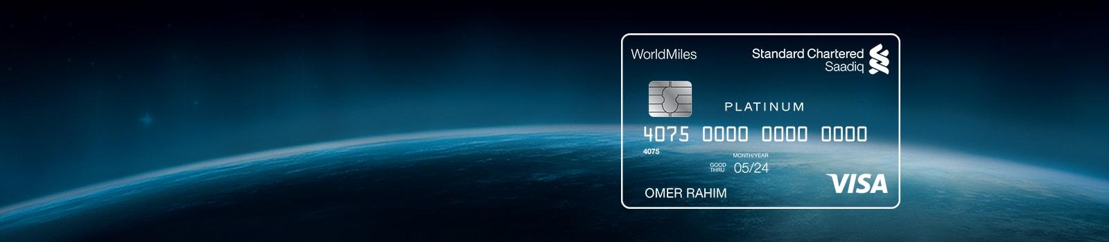 Saadiq Worldmile Credit Card