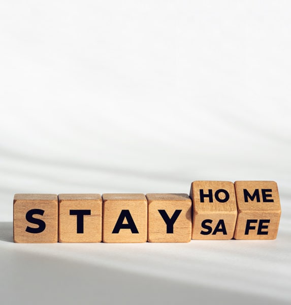 Article saty home stay safe