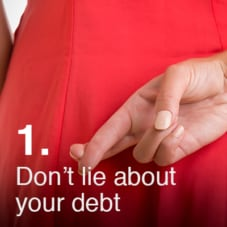 Don't Lie About Your Debt