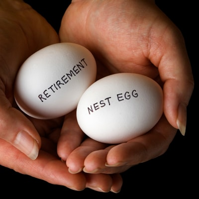 Retirement planning pension nest egg personal finance and savings