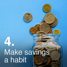 Make saving a habit