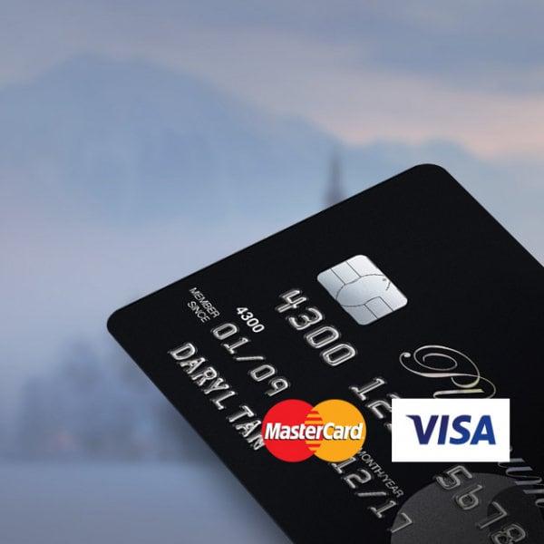 Platinum Visa Mastercard Credit Card