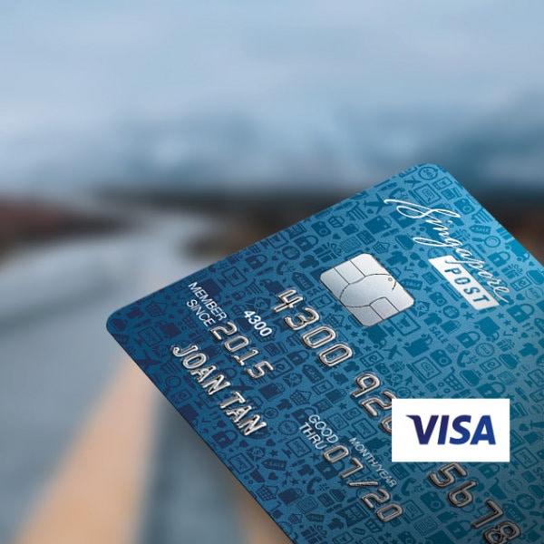 SingPost Platinum Visa Card