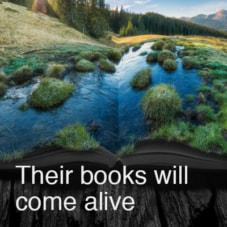 Their books will come alive