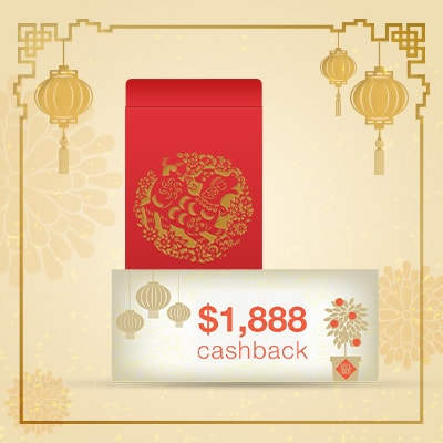 Standard Chartered Chinese New Year Shop, Shake, Win Promotions Page
