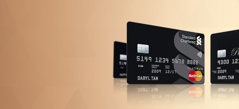 Platinum Visa/Mastercard® Credit Card