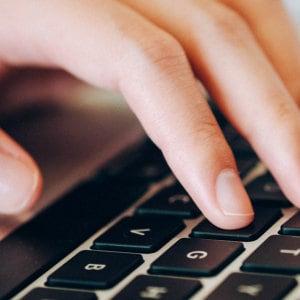 Digital computer laptop