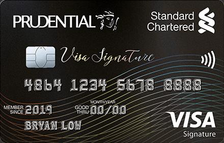 Prudential Visa Signature Card