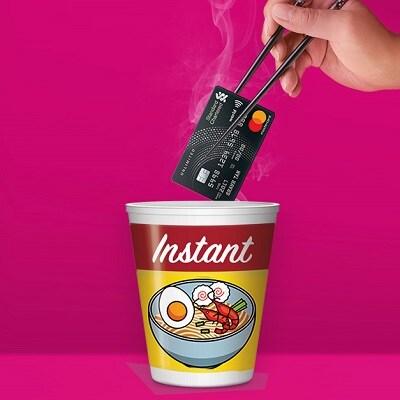 Instant Digital Credit Card