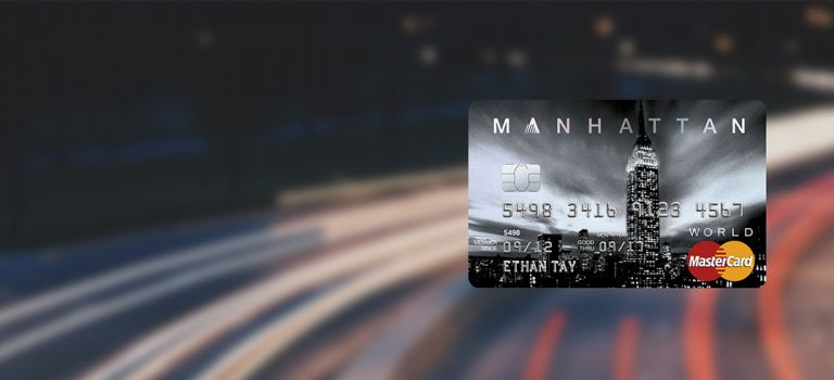 Manhattan $500 Credit Card