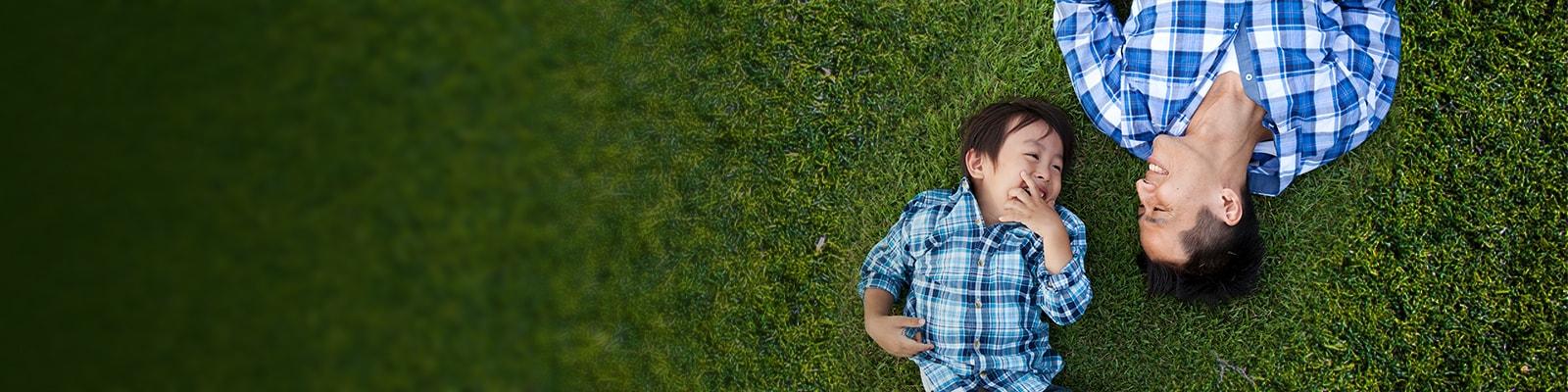 Grass, Plant, Person