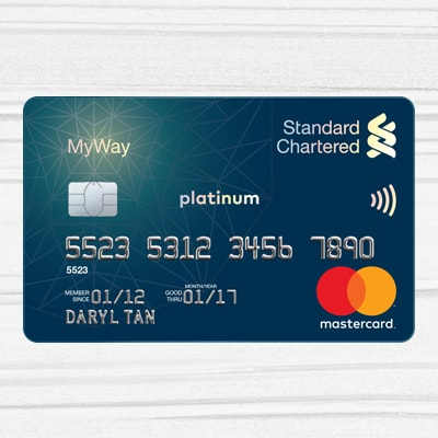 Myway standard chartered singapore myway debit card reheart Image collections