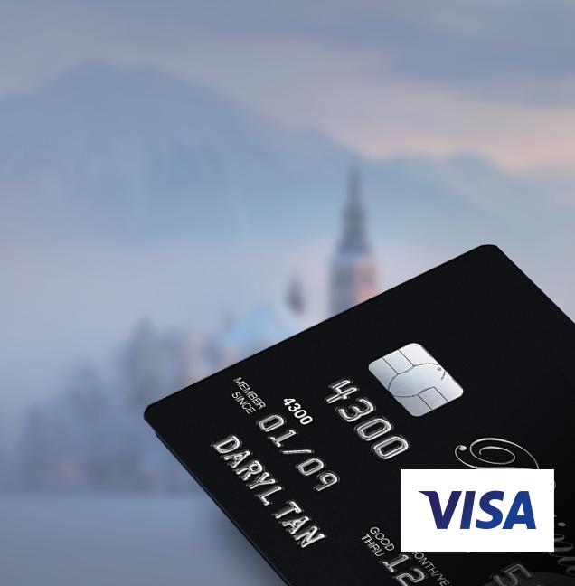 Platinum Visa / Mastercard® Credit Card