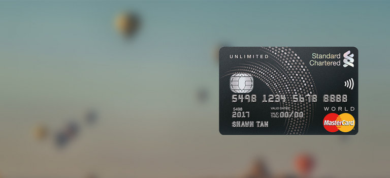 SG Unlimited Cashback Credit Card