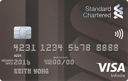 Visa Infinite Credit Card
