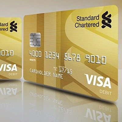 Visa Gold Debit Card