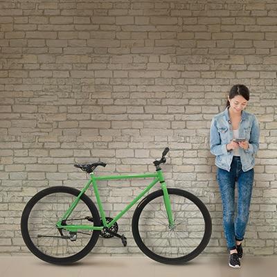 Xe đạp fixed-gear sành điệu