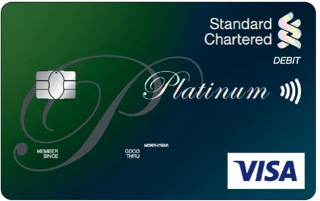 Platinum Debit Card