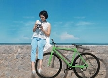 Enjoy unlimited CashBack plus a free trendy bike