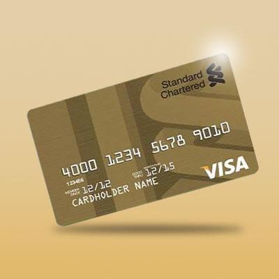 Visa Gold Debit Card